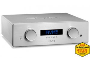 AVM OVATION SD Analog pre amplifier with Streaming DAC x