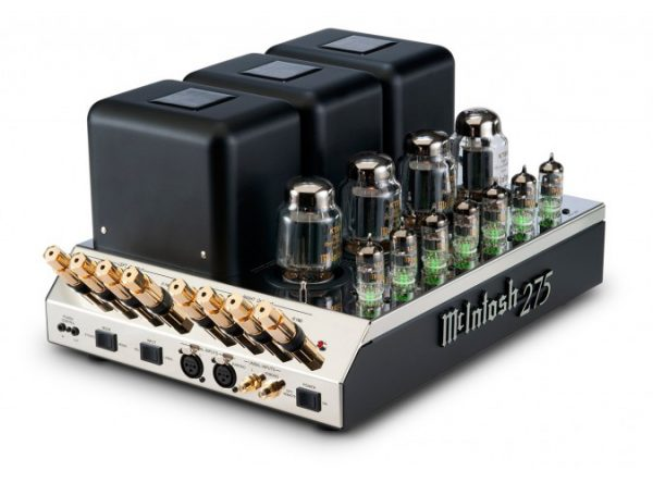 McIntosh MC275 2 Channel Vacuum Tube Amplifier 1