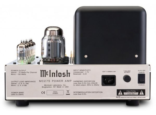 McIntosh MC275 2 Channel Vacuum Tube Amplifier 5