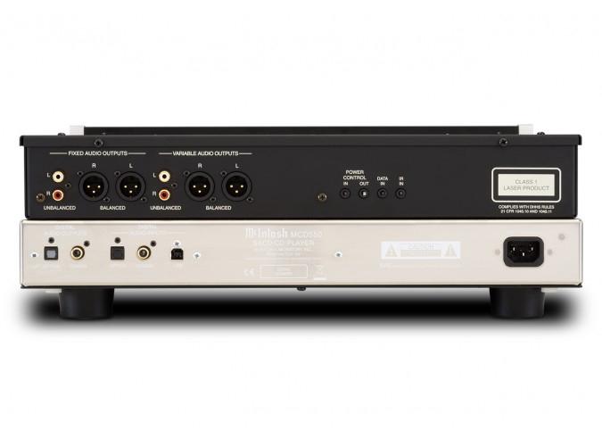 McIntosh MCD550 2-Channel SACD/CD Player - Hifi Lounge