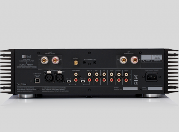 Musical Fidelity M6si Integrated Amplifier 1