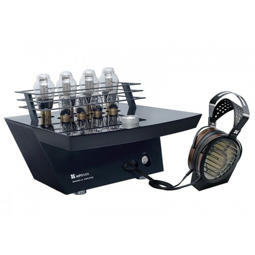 hifiman shangri la amplifier headphones x