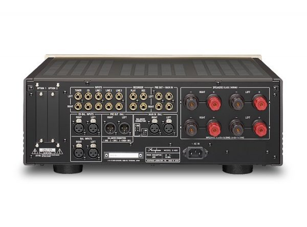 wch Integrated Stereo Amplifier E