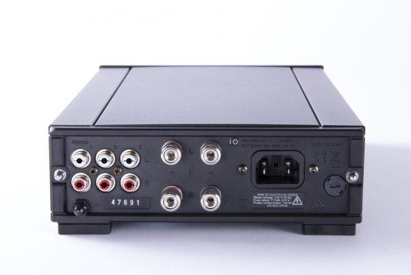 io amp rear panel low level