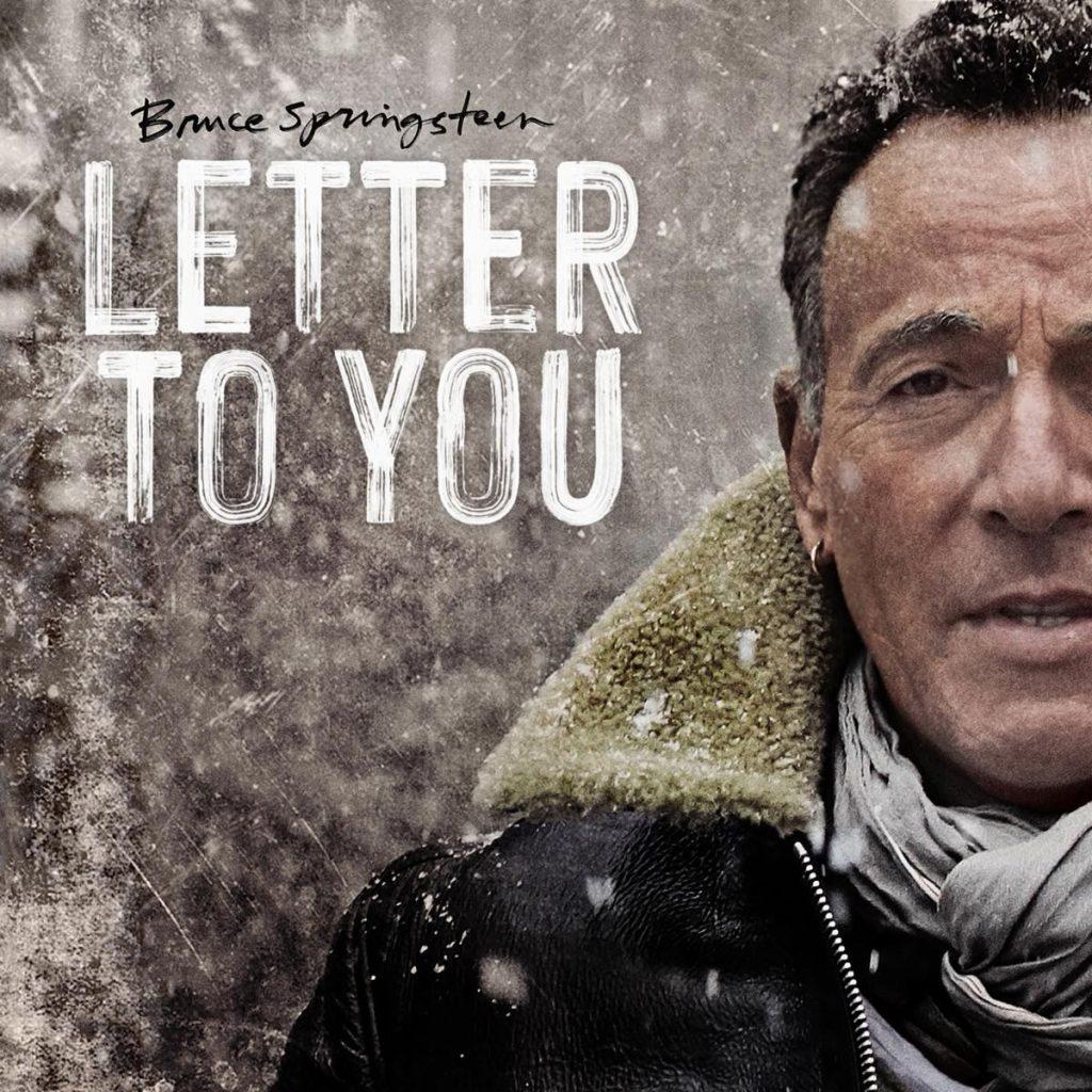 Bruce Springsteen Letter to You artwork